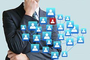 会社の個人情報をどこまで営業に使って良いかわからない